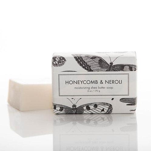 Formulary 55 Shea Butter Soap - Honeycomb & Neroli