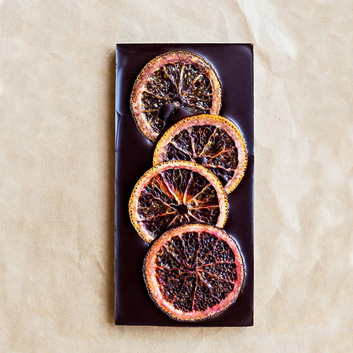 Wildwood Blood Orange Chocolate Bar