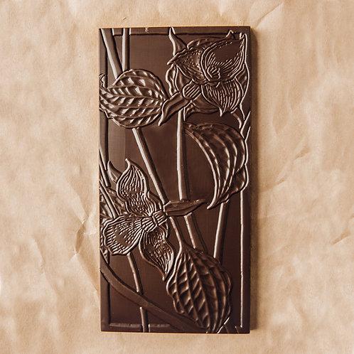 Wildwood Cardamom and Honey Caramel Chocolate Bar