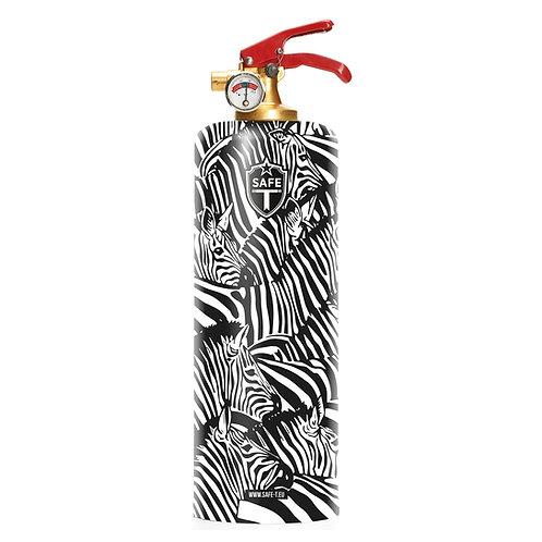Zebra Fire Extinguisher