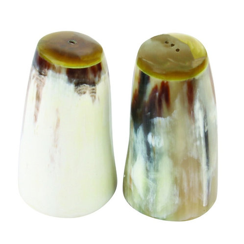Horn Salt & Pepper Set Small