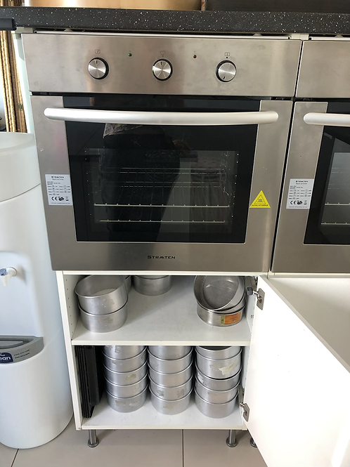 Cabinet for built-in oven