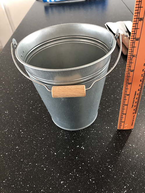 Utensil Holder Metal Bucket Design
