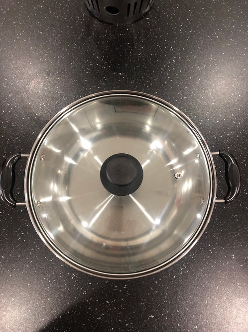 Induction Cooker Pot with Cover (Steamboat Pot)