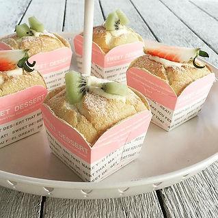 Hokkaido cupcakes made in class today #c