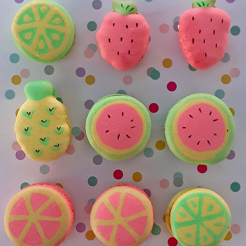 Fruity Macaron - Parent and Child