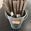 Thumbnail: Utensil Holder Metal Bucket Design