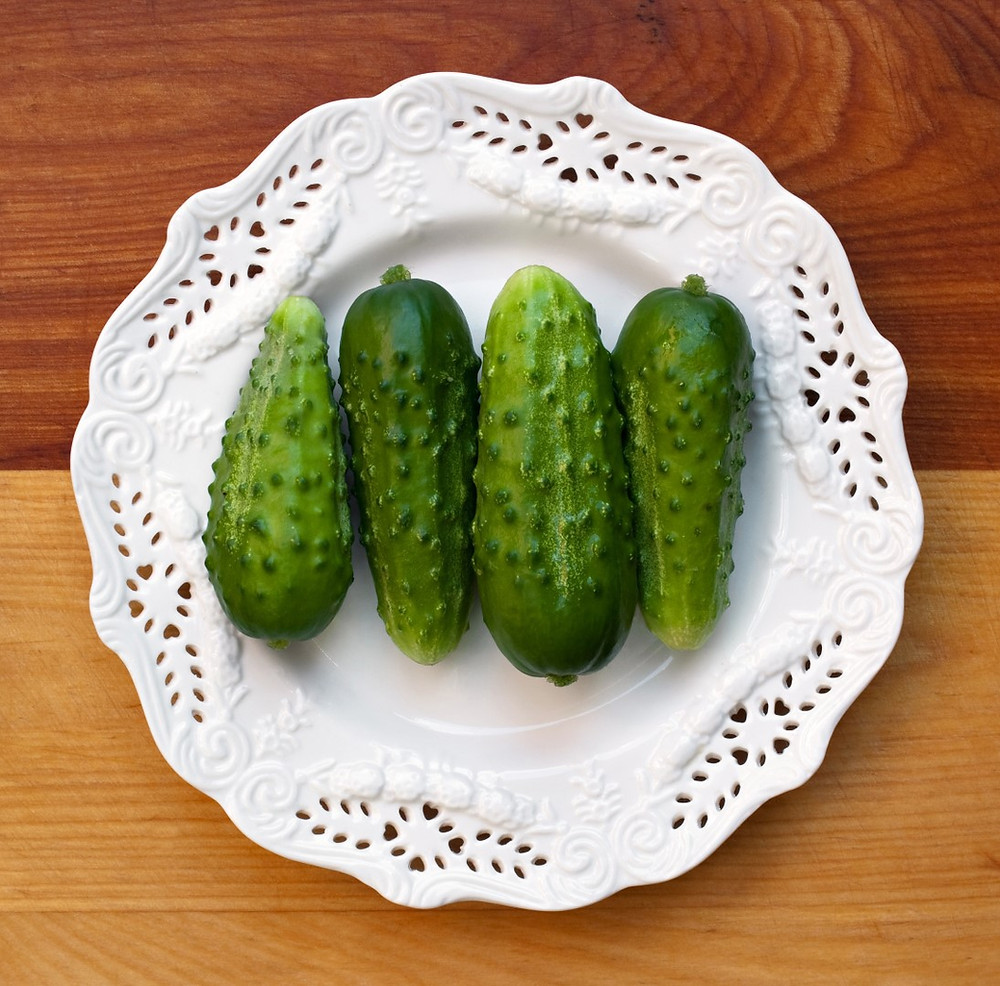 Cucumbers becoming Pickle Chips? Oh yeah!