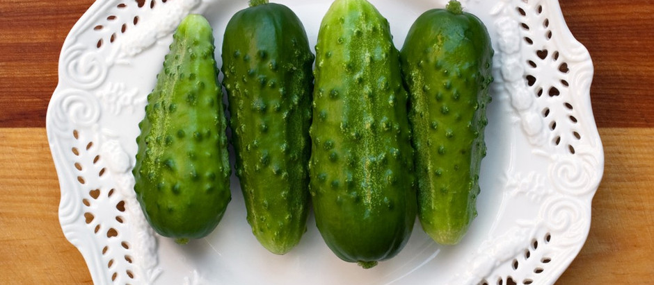 Got Pickle Chips? Delicious Crispy cucumbers
