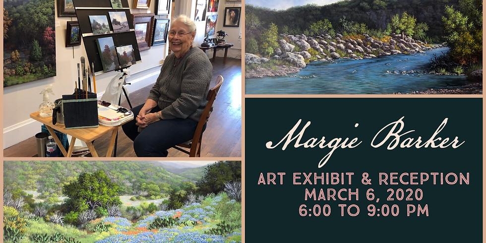 Margie Barker Exhibit Opening Reception