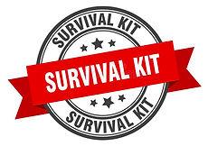 survival-kit-label-sign-round-stamp-band-ribbon-survival-kit-label-sign-round-stamp-ribbon