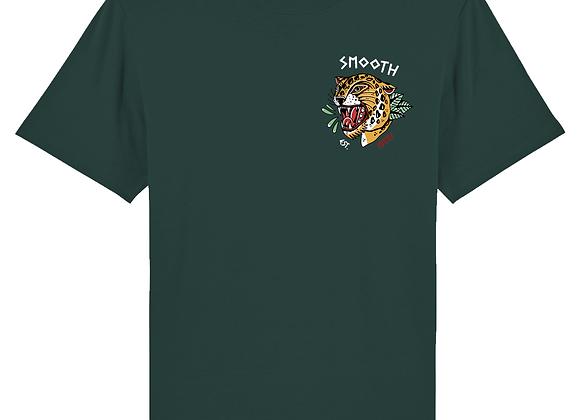 Glazed Green T - Tiger