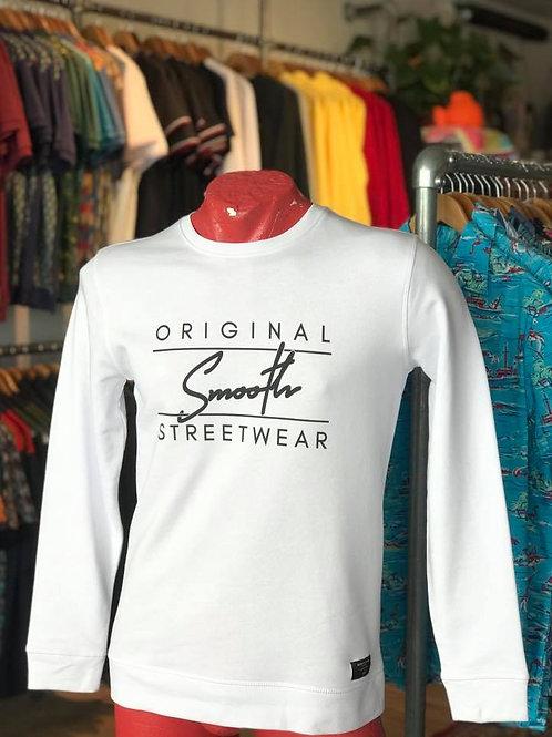 White Sweater - Black Smooth