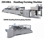 Zenbo Paper Bag Making Machine, Sheetfed paper Bag making,