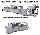 Zenbo Paper Bag Making Machine, Sheetfed paper Bag making,