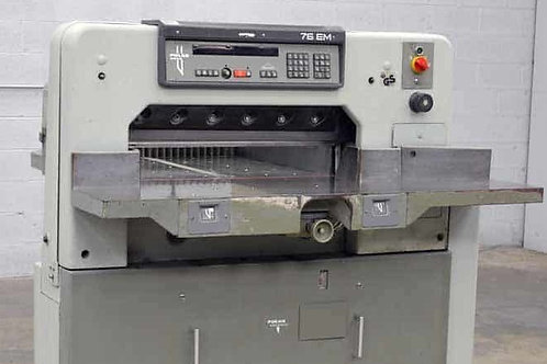 Used Guillotines - German Cutting Machinery