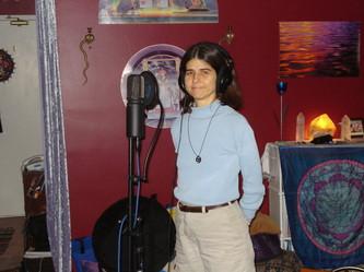 sitara at mic.jpg