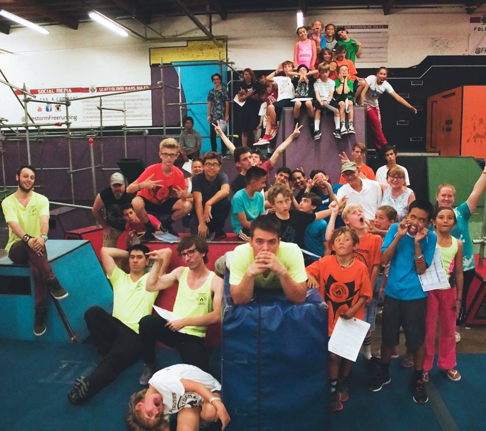 Parkour, community, kids, camps, gymnastics, freerunning, Firestorm, Tempest, Tempest Freerunning, Apex, Ninja Warrior, Ninja, climbing, vaulting, classes