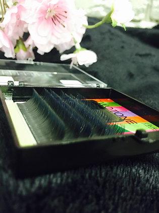 Premium Seda Diámetro 0,10 Curva C Talla 9 mm