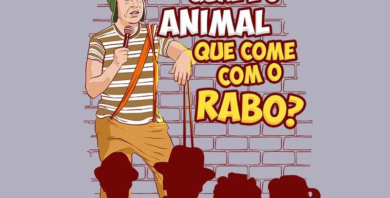 Camiseta Qual é o animal