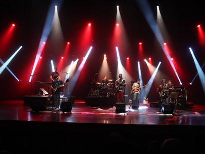 The Central Scrutinizer Band, banda tributo ao Zappa, sempre um espetáculo no palco