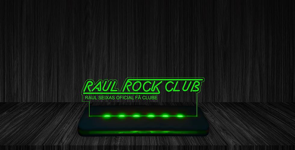 Luminária Raul Rock Club