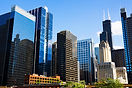 Chicago Skyline Sowntown City Buildings