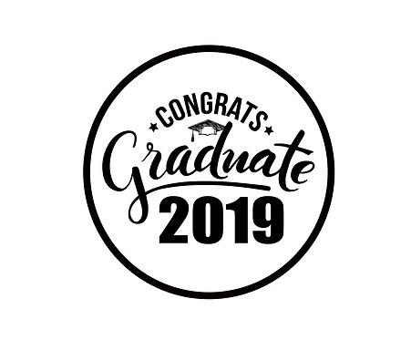 Congrats Graduate 2019 Package Tag