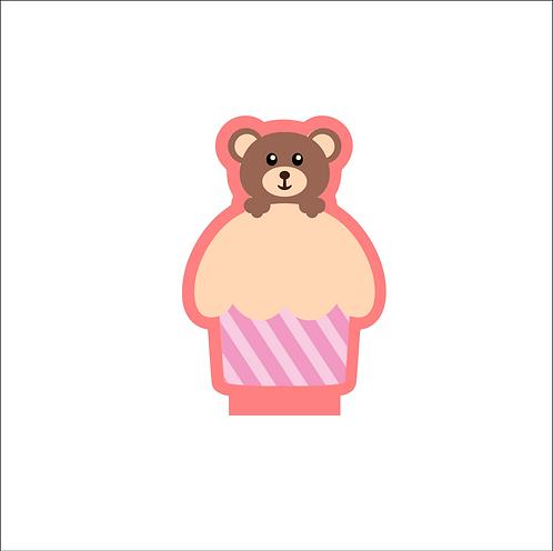 Teddy Bear Cupcake Cutter