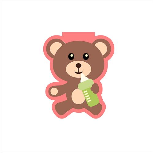 Teddy Bear w/Bottle Cutter
