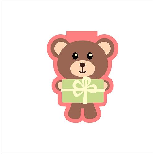 Teddy Bear w/Present Cutter
