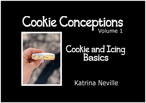 Cookie Conceptions: Volume 1  Cookie and Icing Basics - Digital eBook