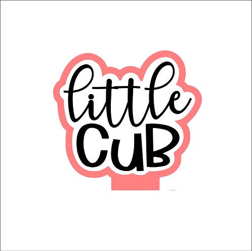 Little Cub Plaque Cutter