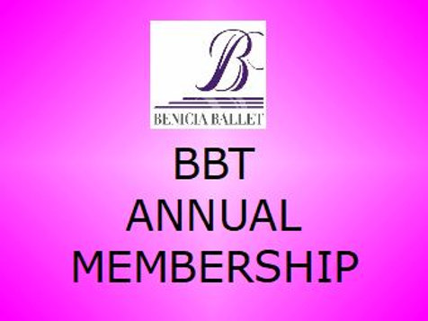 Annual BBT Membership Fee