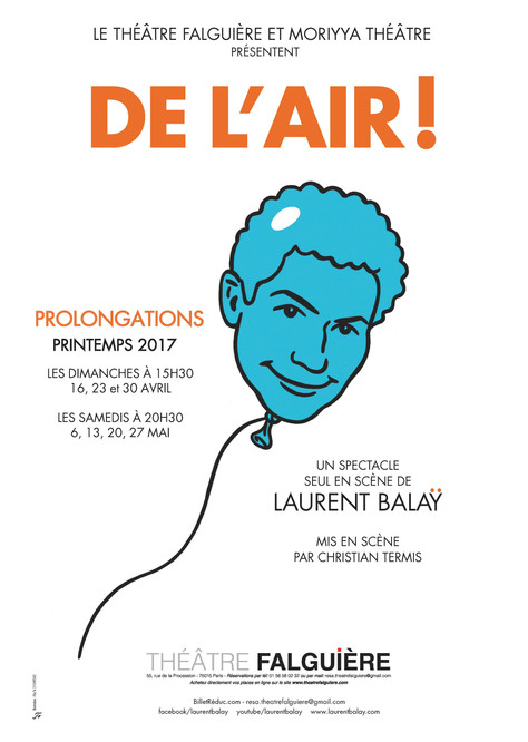Seconde prolongation au Théâtre Falguière !