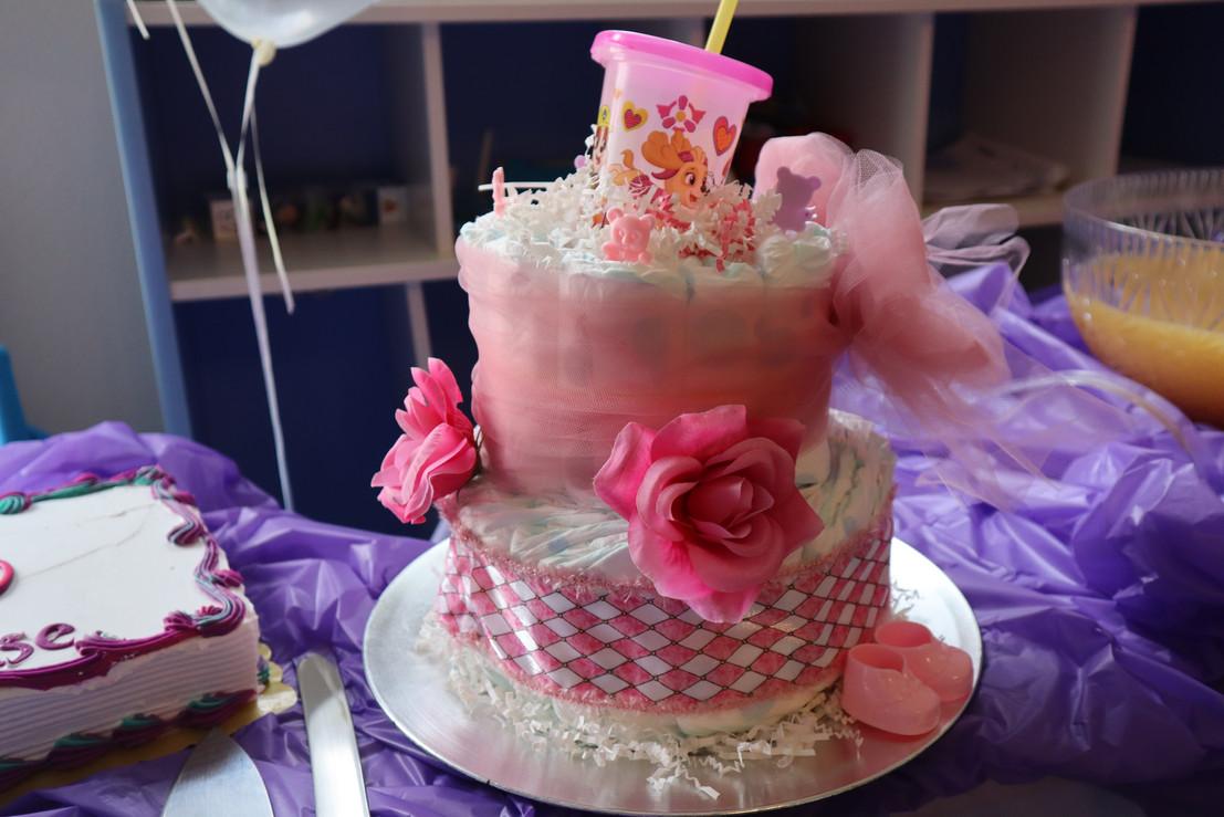 Diaper Cake #2