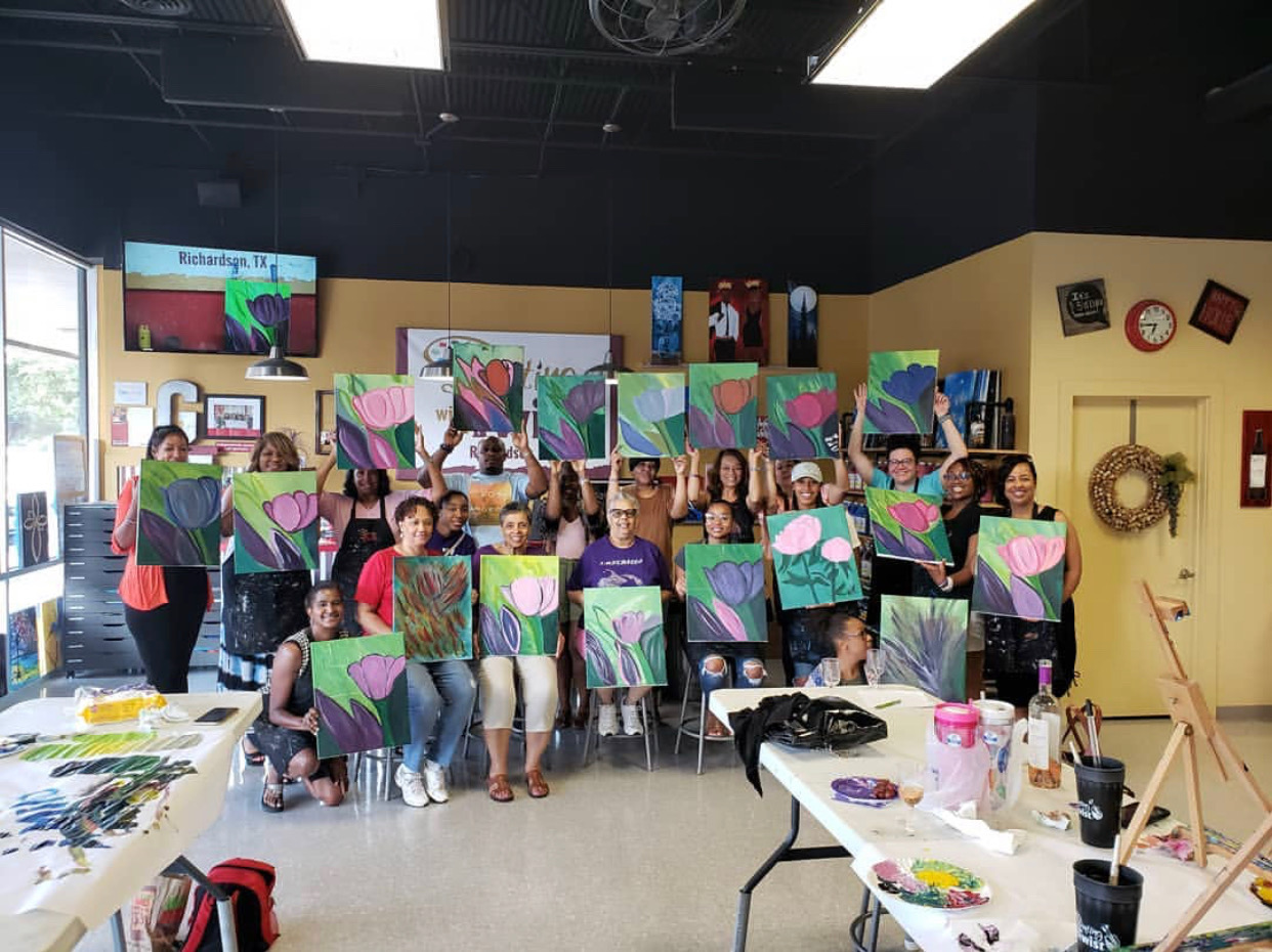 Painting W/ A Twist, 2019 Fundraiser