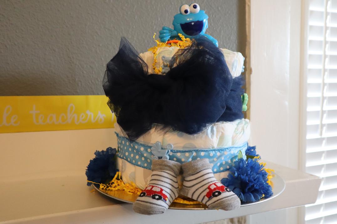 Diaper cake #3