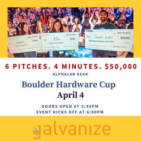 AlphaLab Hardware Cup - Boulder