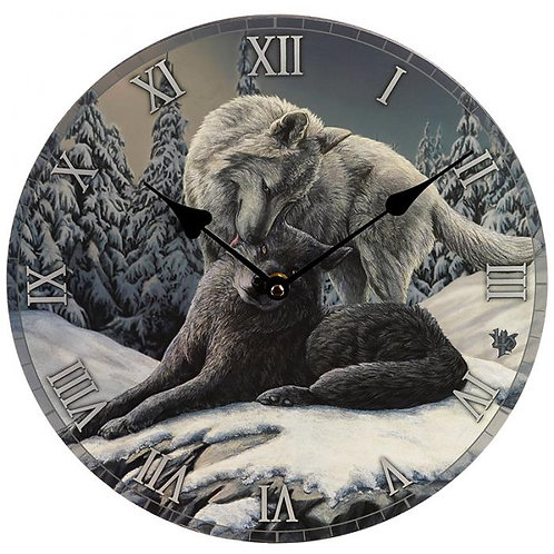 Snow Kisses by Lisa Parker - Orologio