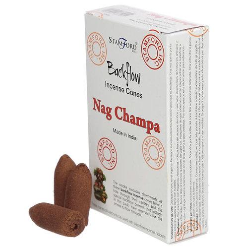 Incenso in coni Effetto Cascata - Nag Champa