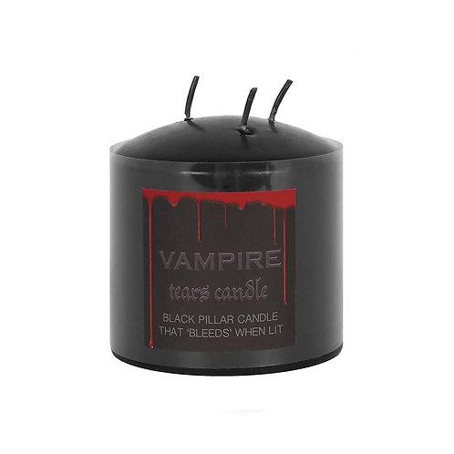 Vampire Tears Pillar Candle 7,5cm - Candela Vampira Media