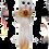 Thumbnail: Portachiavi Gatto con pallina 11cm