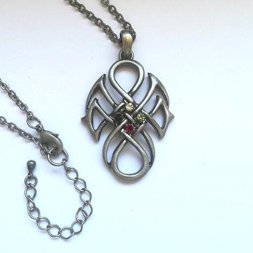 Celtic Knot - Collana Celtica con Pietre