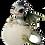 Thumbnail: Drago dei Boschi - Cucciolo nell'uovo Grande Tipo B 10cm