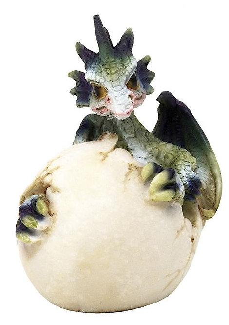 Drago dei Boschi - Cucciolo nell'uovo Piccolo Tipo A 7,5cm
