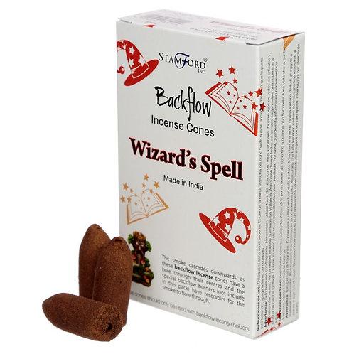 Incenso in coni Effetto Cascata - Wizard's Spell - Patchouli