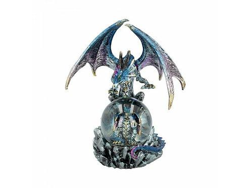 Azul Oracle - Drago con Cucciolo nella sfera 19cm