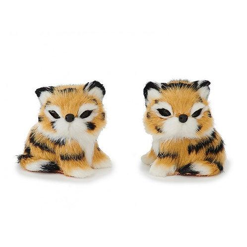 Tigre Decorativa in pelliccia sintetica 5cm