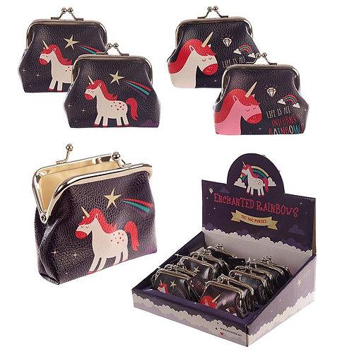 Portamonete Unicorno Kawaii